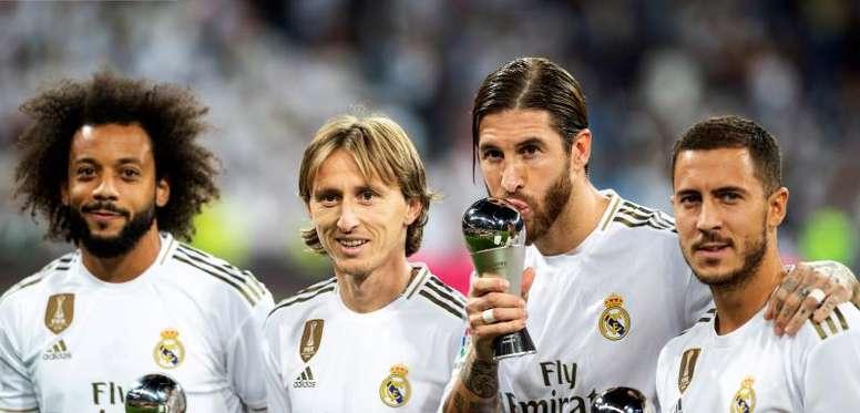 O Real Madrid tem muito trabalho pela frente. EFE/ Rodrigo Jiménez