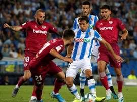 Manchester City se jettera sur Oyarzabal. EFE