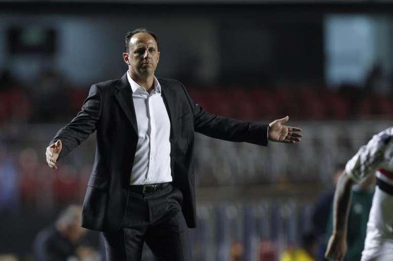 Rogério Ceni saiu do Cruzeiro há um ano e muita coisa mudou. EFE/Sebastião Moreira