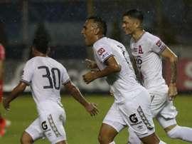Alianza derrotó por 2-0 a FAS. EFE/Archivo