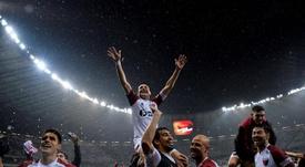Colón logró alcanzar la final de la Sudamericana por penaltis. EFE