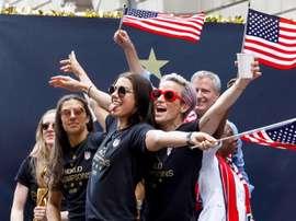 Estados Unidos se refrendó como la mejor selección. EFE