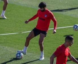 Diego Costa trained this Saturday. EFE