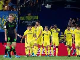 Villarreal écrase le Betis Séville. EFE