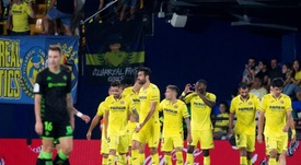 El Villarreal venció al Betis en La Cerámica. EFE