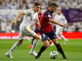 Les compos probables du match de Liga entre Osasuna et le Real Madrid. EFE