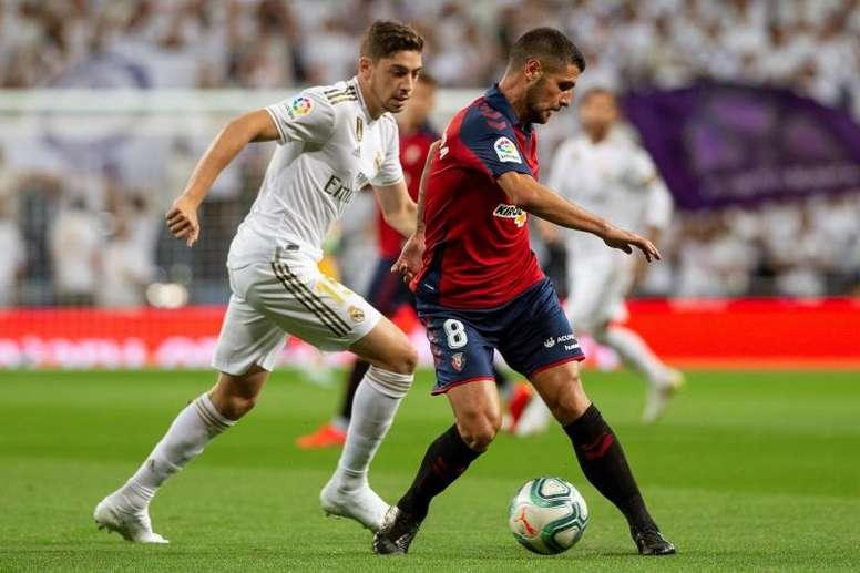 Fran Mérida analizó el partido ante el Athletic. EFE