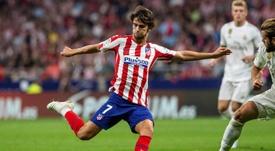 Grimaldo cree que el Atlético puede frotarse las manos con su gran fichaje. EFE