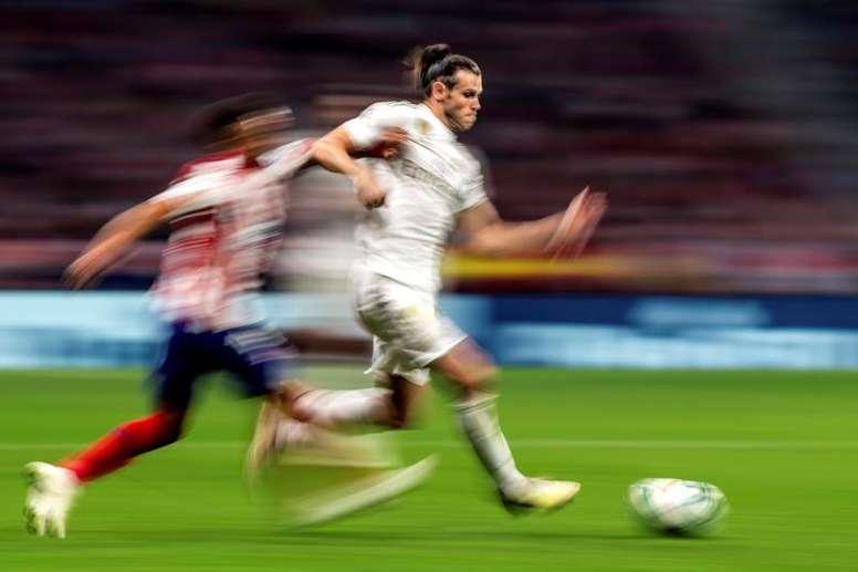 Bale quer sair, ainda que seu destino não seja o City. EFE/Rodrigo Jimenez
