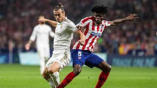 Se não há Thomas, não há Atlético. EFE/ Rodrigo Jiménez
