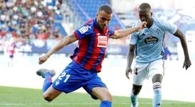 El futbolista sigue siendo una pieza importante en el Eibar. EFE