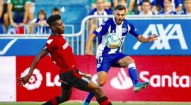 Rioja reconoce que le gustaría jugar en el Betis. EFE