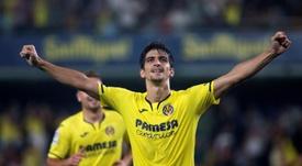 Gerard Moreno, un ejemplo de la buena relación Villarreal-Espanyol. EFE