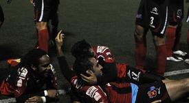 Alajuelense no se deja ir y pelea por el liderato. EFE/Jeffrey Arguedas/Archivo
