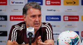 Gerardo Martino elogió a Lozano. EFE