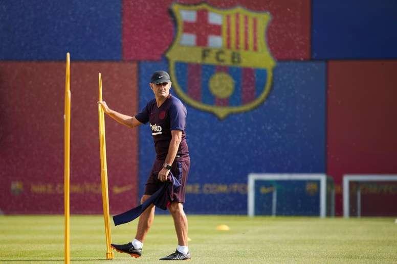 Valverde se va como un señor, pero... ¿puede el club decir lo mismo? EFE