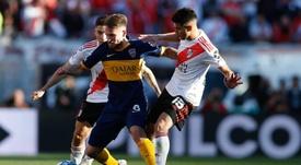 Boca recibió una multa por no asistir a una reunión previa. EFE