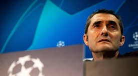 Valverde praises Messi impact in Barcelona victory. AFP