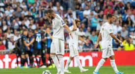 Benzema chega aos 100 jogos pelo Real Madrid. EFE/ Rodrigo Jiménez