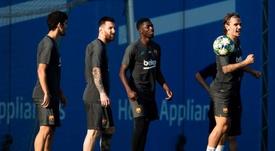 El Barça se baja el sueldo. EFE
