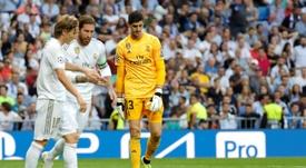 Real Madrid evita derrota e volta a decepcionar na Champions. EFE/ Juanjo Martín