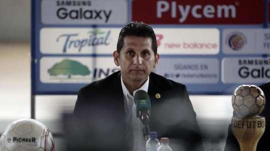 González tiene claro que el Mundial es el objetivo. EFE/Jeffrey Arguedas