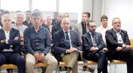 La sentencia condenó a los directivos del Zaragoza Agapito Iglesias y Javier Porquera. EFE