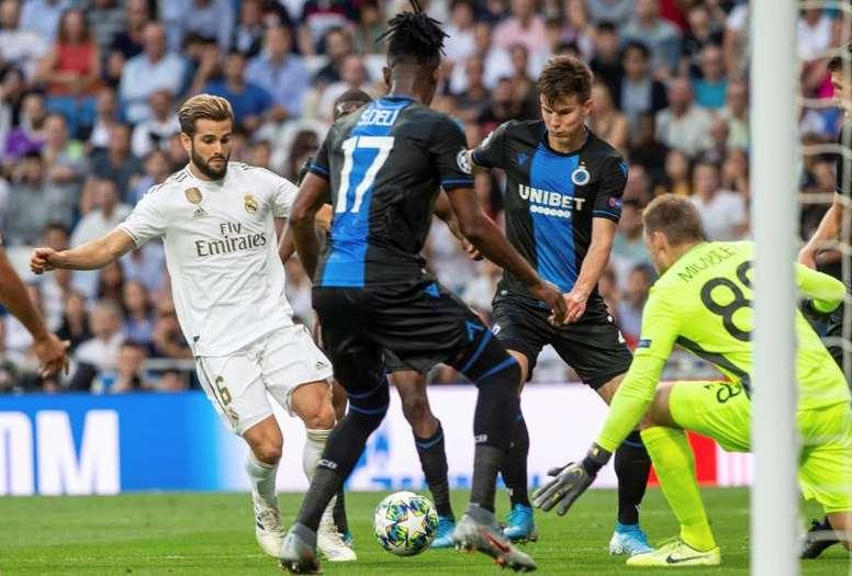 La UEFA no sancionó al Madrid, pero si a Vormer. EFE/Rodrigo Jiménez
