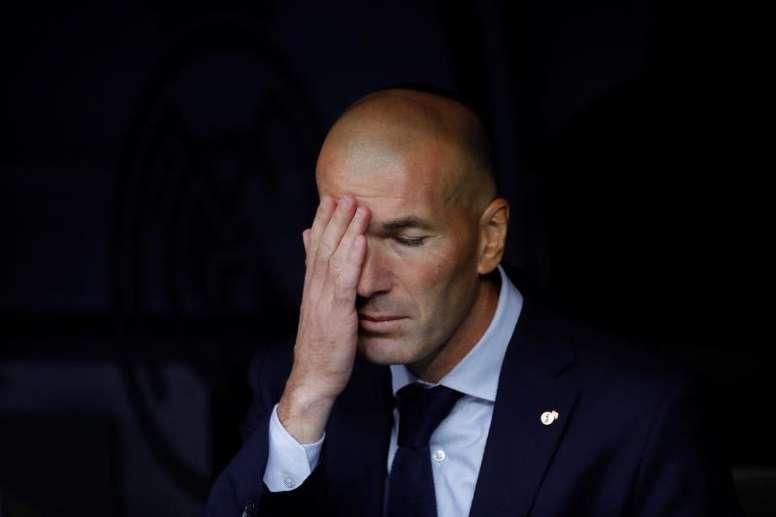 La hora de Zidane. EFE