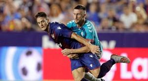Radoja, toujours blessé, est très incertain pour le match contre le Real Madrid. EFE