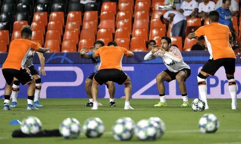Alberto Torres sigue con el Valencia. EFE