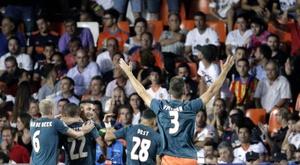 O Ajax com mais lucros da história. EFE/Manuel Bruque