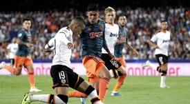 El Atlético no se ha olvidado de Rodrigo. EFE