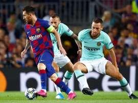 Moratti parla del sogno Messi. EFE