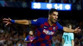 Le Barça annonce le départ de Luis Suárez. EFE