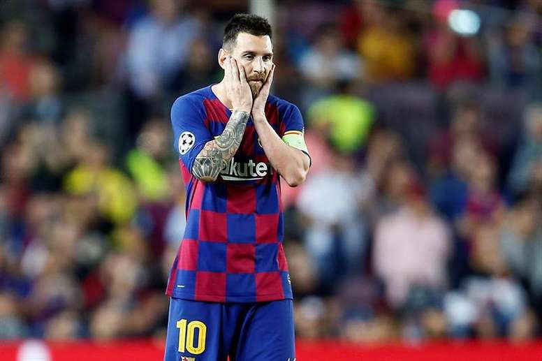 Messi devra régler l'anomalie. EFE
