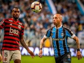Flamengo - Grêmio, ao minuto. EFE