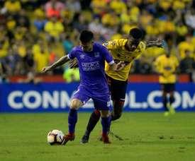 Barcelona Guayaquil aplastó a Delfín. EFE