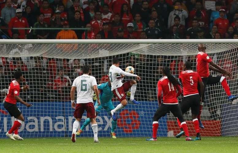 Debutants Macias and Angulo inspire El Tri win. EFE