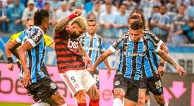 Entreguem a Taça ao Flamengo. EFE