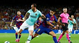 El Barça no se juega nada deportivamente en Milán. EFE