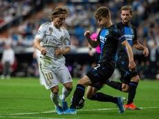 La UEFA abrió un expediente disciplinario a Madrid y Brujas. EFE