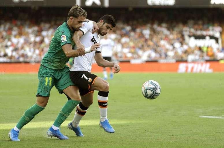 La Real Sociedad se verá las caras con el Valencia. EFE