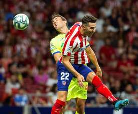 Mario Hermoso has not managed to find his place at Atletico Madrid. EFE