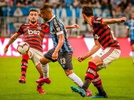 Flamengo - Grêmio: onzes iniciais confirmados. EFE