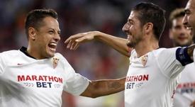 El Sevilla es uno de los cinco equipos con pleno de triunfos. EFE
