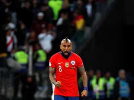 OFICIAL: los internacionales de Chile deciden no jugar ante Perú. EFE/Paulo Whitaker