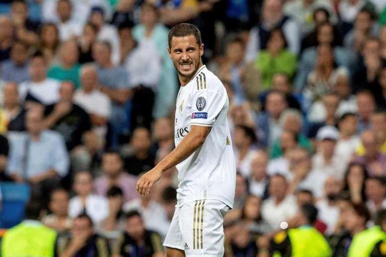 Hazard n'est pas Cristiano Ronaldo. EFE