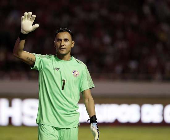 Navas liderará una Costa Rica sin Bryan Ruiz. EFE