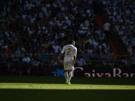 Carvajal est incertain pour la Coupe du Roi. EFE/Fernando Villar